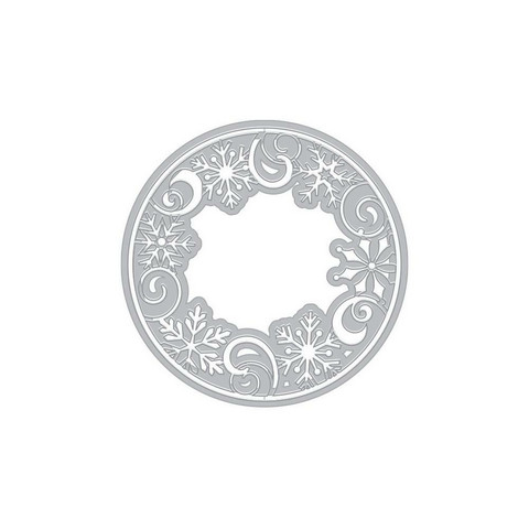 Hero Arts - Snowflake Medallion, Stanssi