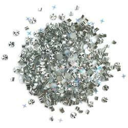 Buttons Galore - Doodadz Embellishments, 10g, Quicksilver