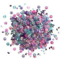 Buttons Galore - Doodadz Embellishments, 10g, Princess Sparkle