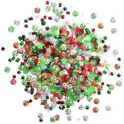 Buttons Galore - Doodadz Embellishments, 10g, Cool Yule