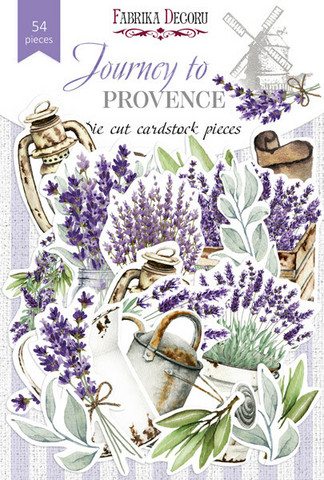 Fabrika Decoru - Leikekuvat, Journey to Provence, 54 osaa