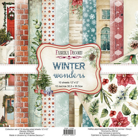 Fabrika Decoru - Winter Wonders, 12