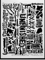 StencilGirl - Unfinished Stencil, Sapluuna, 9