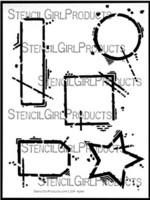 StencilGirl - Urban Outsiders Stencil, Sapluuna, 9