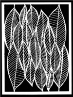 StencilGirl - Clustered Leaves, Sapluuna, 9