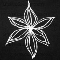 StencilGirl - Deconstructed Lily Mask and Stencil, Maski&Sapluuna, 6