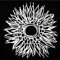 StencilGirl - Deconstructed Chrysanthemum Mask and Stencil, Maski&Sapluuna, 6
