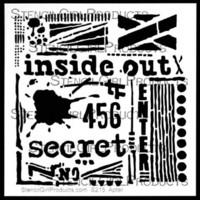 StencilGirl - Inside Out Stencil, Sapluuna, 6