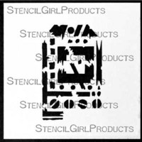 StencilGirl - Techno Insiders Tag Stencil, Sapluuna, 4