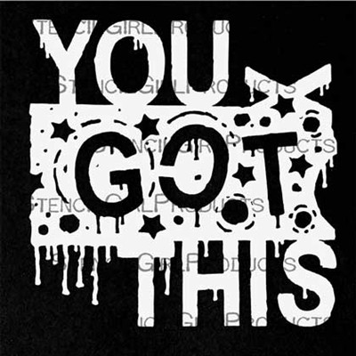 StencilGirl - You Got This Mini, Maski, 4