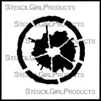 StencilGirl - Splat, Sapluuna, 4