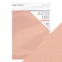 Tonic - Glitterkartonki, Pink Frosting, A4, 5 arkkia