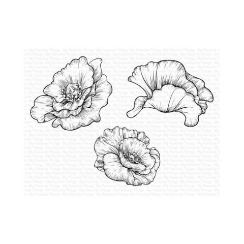 My Favorite Things - Poppy Blooms, Leimasetti