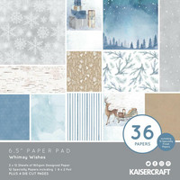 Kaisercraft - Whimsy Wishes, Paperikko, 6.5