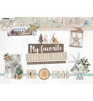 Studio Light - Winter Charm, Crafting Book nro97, Leikekuvia ja papereita