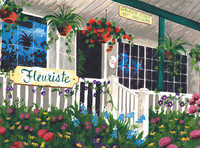 Royal&Langnickel - Paint By Numbers Kit, Flower Shoppe