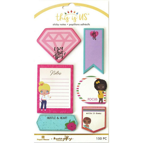 Paper House - This Is Us Sticky Note Set, Just Be You