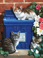 Royal&Langnickel - Paint By Numbers Kit, Mailbox Kittens