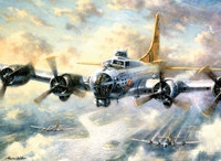 Royal&Langnickel - Paint By Numbers Kit, Flying Fortress
