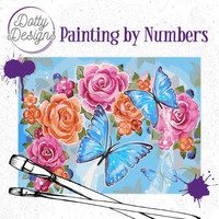 Dotty Design - Paint By Numbers 40x50cm, Perhonen