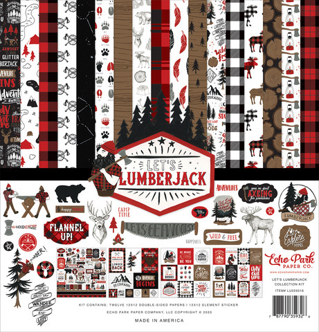 Echo Park - Let's Lumberjack Collection Kit 12