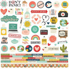 Simple Stories - Quarantined Cardstock Stickers 12