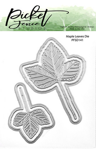 Picket Fence Studios - Maple Leaves, Stanssisetti