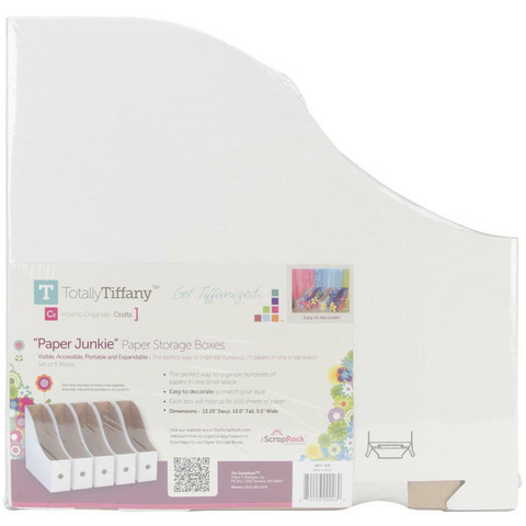 Totally-Tiffany - ScrapRack Paper Storage 12