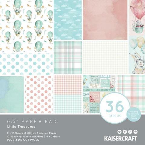Kaisercraft -  Little Treasures, Paperikko, 6.5
