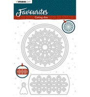 Studio Light - Winter's Favourites, nr.340, Stanssisetti