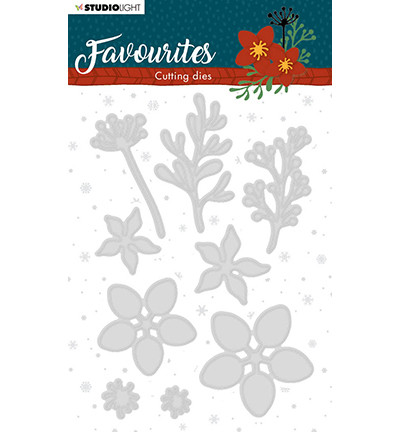 Studio Light - Winter's Favourites, nr.332, Stanssisetti