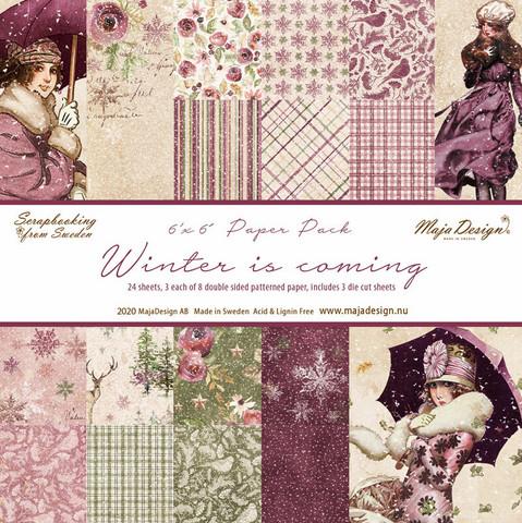 Maja Design - Winter is Coming, 6''x6'', Paperikko