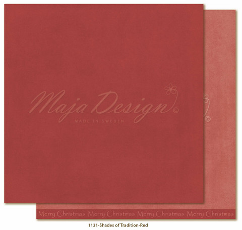Maja Design - Monochromes, Shades of Tradition, Red
