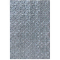 Sizzix - 3D Texture Impressions Embossing Folder By Kath Breen, Kohokuviointitasku, Tileable