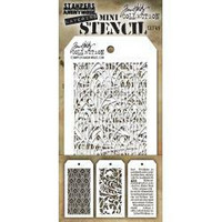 Tim Holtz - Mini Layered Stencil, Set #49