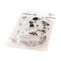 Pinkfresh Studio - Charming Floral Wreath, Leimasetti