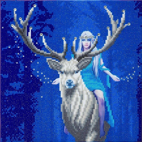 Craft Buddy - Fantasy Forest (O)(P), Timanttimaalaus, 30x30cm