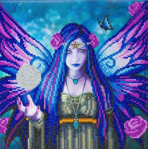 Craft Buddy - Mystic Aura (O)(P), Timanttimaalaus, 30x30cm
