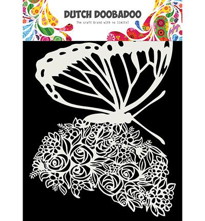 Dutch Doobadoo - Butterfly, A5, Maski