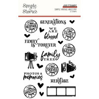 Simple Stories - Simple Vintage Ancestry, Leimasetti