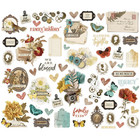 Simple Stories - Simple Vintage Ancestry Bits & Pieces Die-Cuts, 57 osaa