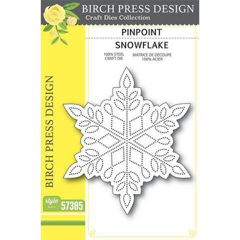 Birch Press Designs - Pinpoint Snowflake, Stanssi