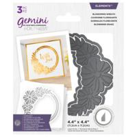 Gemini - Foil Stamp 'N' Cut Elements, Blossoming Wreath