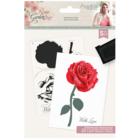 Crafter`s Companion - Sara Signature Collection Rose Garden, Leimasetti, Ravishing Rose