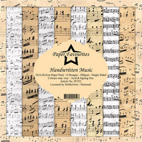 Paper Favourites - Handwritten Music 12