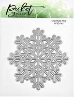 Picket Fence Studios - Snowflake Alice, Stanssi