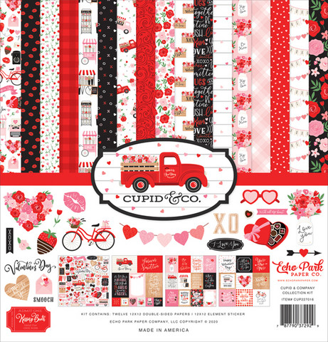 Echo Park - Cupid Company Collection Kit 12