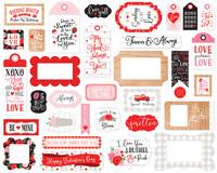 Echo Park - Cupid Company Frames & Tags, Leikekuvia, 33 kpl