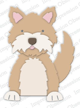 Impression Obsession - Wirehair Terrier, Stanssisetti