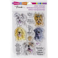 Stampendous - Dog Kisses, Leimasetti